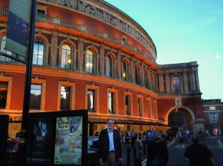 Bruce at Royal Albert Hall, London