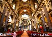 The magnificent Brompton Oratory, London
