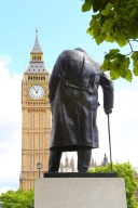 Churchill guarding the Parliament, London
