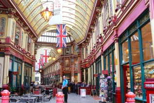 Bruce, Leadenhall Market, London